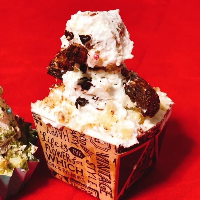 豪華なクリスマスケーキはなし!でも、子どもが大満足のデザートづくり