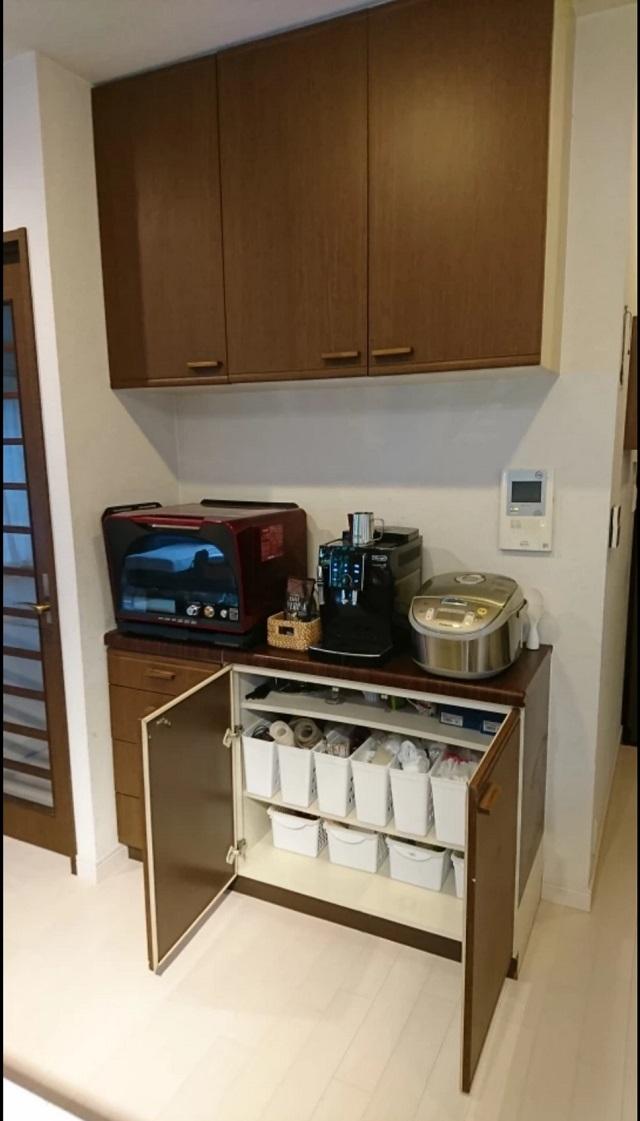 総額1万円、3時間DIYで、楽ちん&お気に入りのキッチン収納を実現!