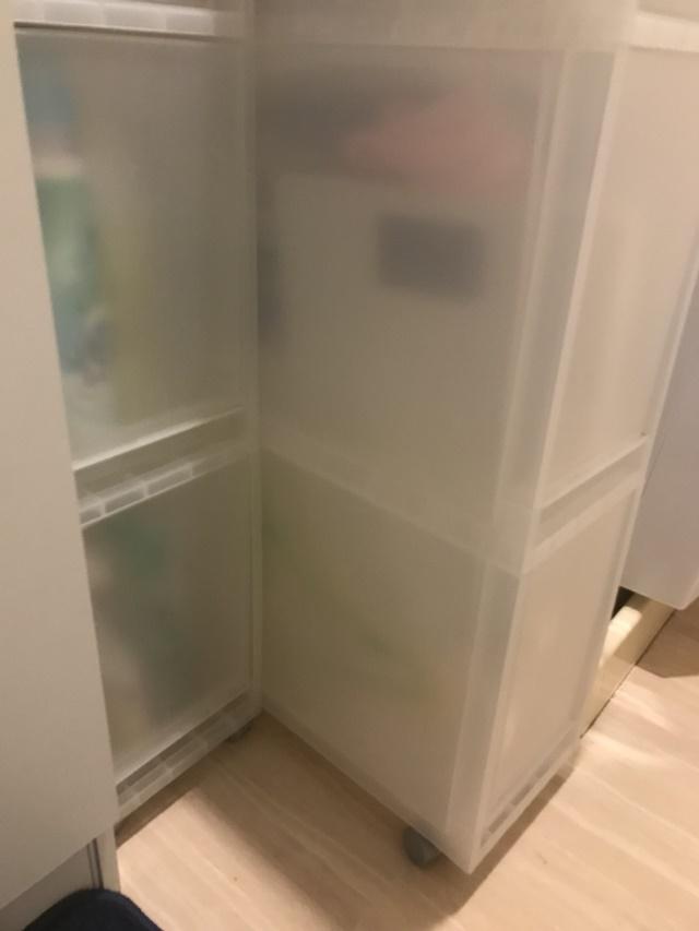 狭小洗面所にこそ使いたい。収納力だけじゃない「無印良品」の「追加用ストッカー」