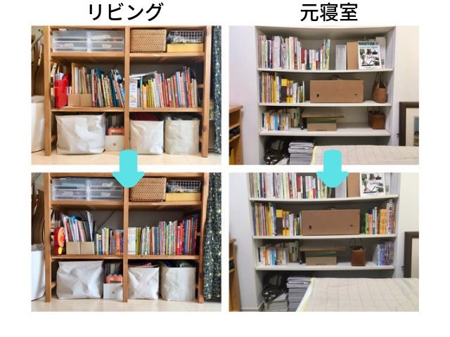 読む場所の近くに置くのがうまくいく!本好き家族の本棚オーガナイズ