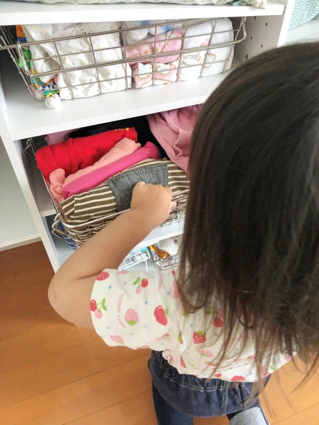 2歳児だってこんなにできる!子どもの 「できる」を育む収納の仕組み