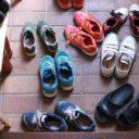 狭い玄関の靴収納こそオープンに!「無印良品」パイン材ユニットシェルフのススメ