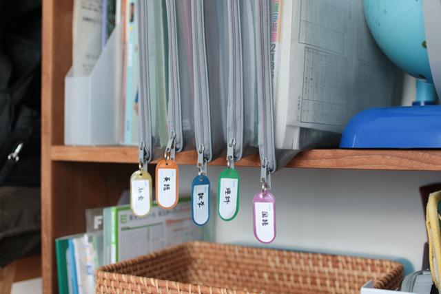 「無印良品」の「ナイロンメッシュ書類ケース」で解決! 中学生の忘れ物をなくす教科書収納