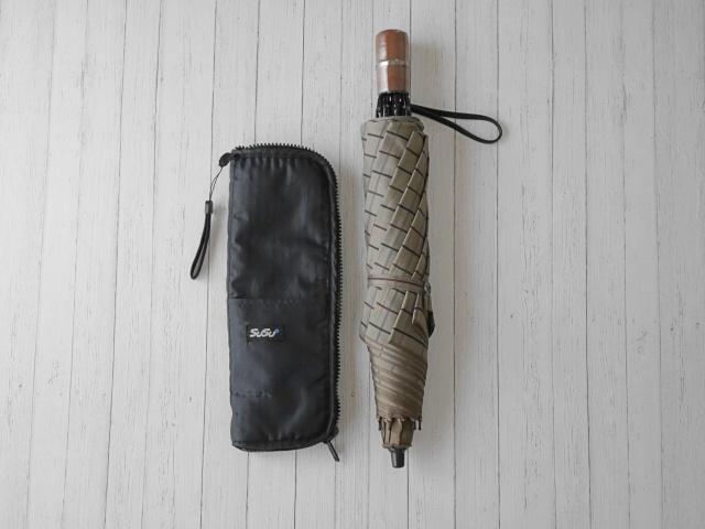 濡れない!速乾!雨の日に役立つ、濡れたまましまえる超吸水傘ケース