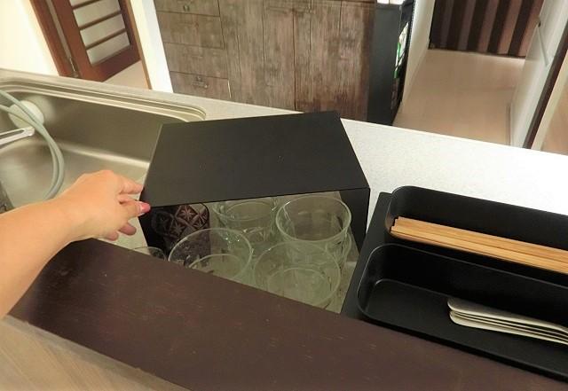 丸見えのキッチン!「ラク」に「すっきり」を叶える小さな3つの工夫