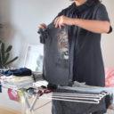 子ども4人のズボラ母が実践!タオルハンガーで時短&楽できる子ども服の干し方