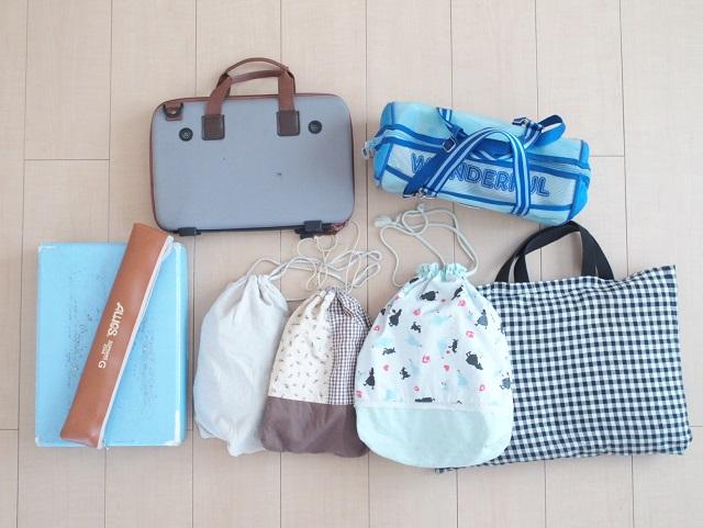 夏休みの持ち帰り荷物は、「折りたたみボックス」でコンパクトに収納!