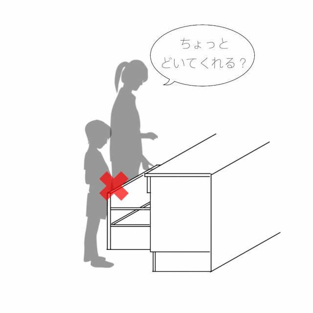 引出し収納が100%正解とは限らない!「キッチン収納のカタチ」