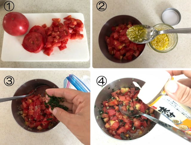 5分でできる!切って混ぜるだけの簡単朝食2品
