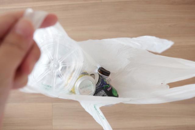 悩ましい資源ごみの分別が、「セリア」のランドリーバッグ1つで解決!