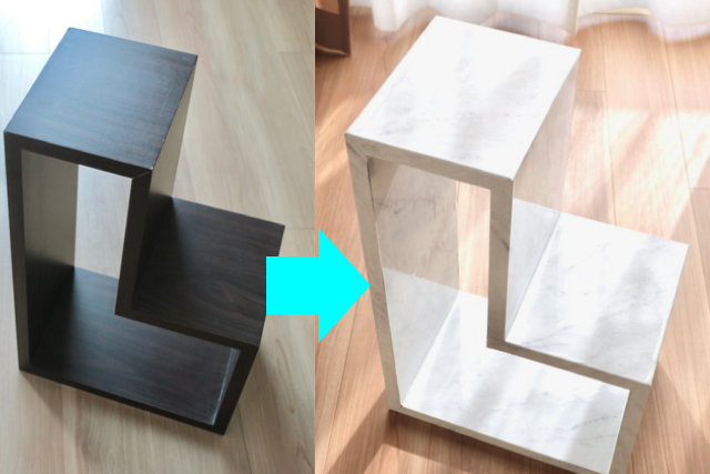 【簡単DIY】大理石のリメイクシートで雰囲気一変!初心者でもうまくいくコツ