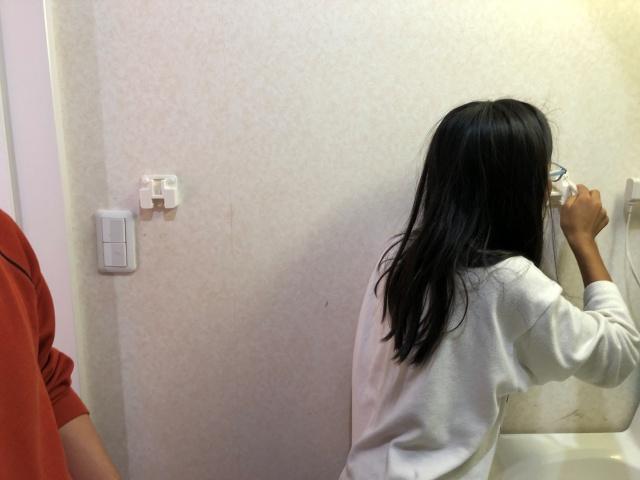 5人家族の洗面所収納 狭い・使いづらい問題は、家族で分担して解決!