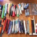 ちょうどいいのは何本? 家中あちこちにあるペンの数を減らして、使いやすくする工夫