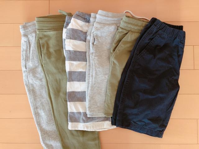 """入れ方にこだわらない、出し入れしやすい子ども服収納。基準は""""一週間以内に着そう""""な服!"""