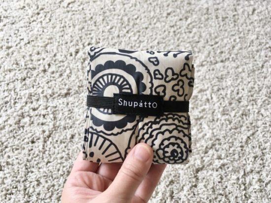 一瞬でたためるエコバッグ「Shupattoシュパット」があれば、レジ袋有料化でも安心