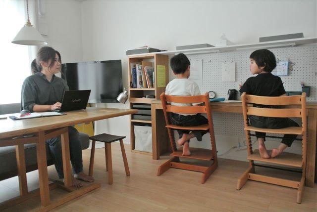 子どもが自分でできる!教材収納と学習習慣の作り方~「公文式」編