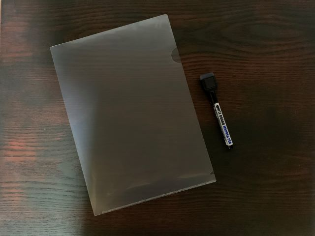 書類を入れるだけじゃない。余ったクリアファイルの誰でもできる簡単活用法