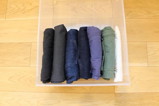 きれいにたためて収納力がアップする!アイテム別洋服のたたみ方3選