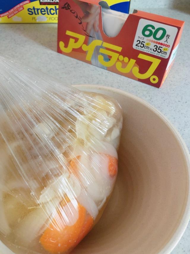 ラップのようなポリ袋「アイラップ」。お鍋を使わず、冷凍から調理までこれ1枚で完成!