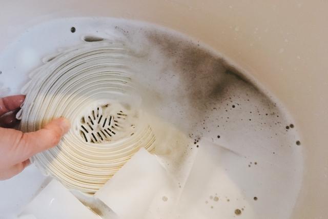 失敗しないバーチカルブラインド洗濯法 後々のめんどくさいは前もってのひと手間で回避