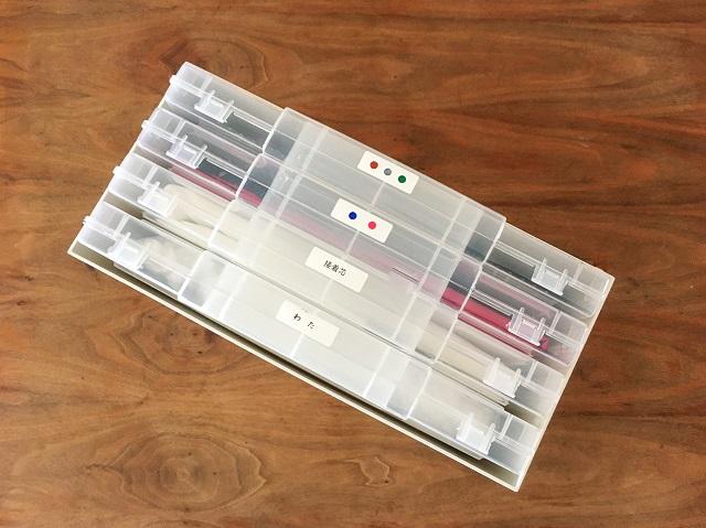 はぎれ収納はセリアの「ファイルケース」におまかせ!すっきり使いやすく収納するコツ