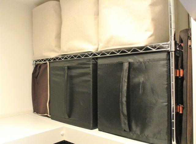 クローゼットや押入れの収納力アップに便利!長く使えるスチールラックの選び方