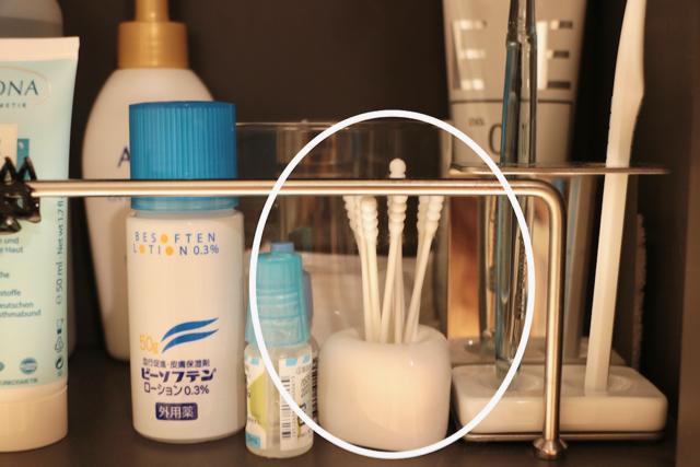 【洗面所の鏡裏収納】ものが入りきらないときは、3つを割り切れば上手くいく!