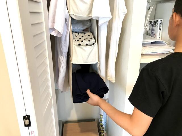 【子ども服収納】たたむorかける? 収納方法は場面別で変えるとうまくいく