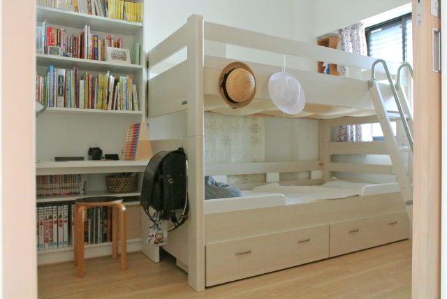 【5畳の子ども部屋づくり前編】大きめ二段ベッドを選んでよかった理由