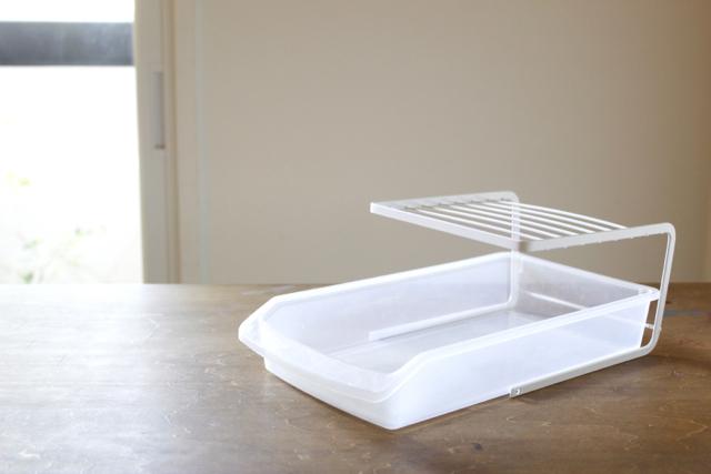 3つのピッタリが気持ちいい!冷蔵庫の中の棚と引き出しを、ダイソーの収納グッズで簡単に作る方法