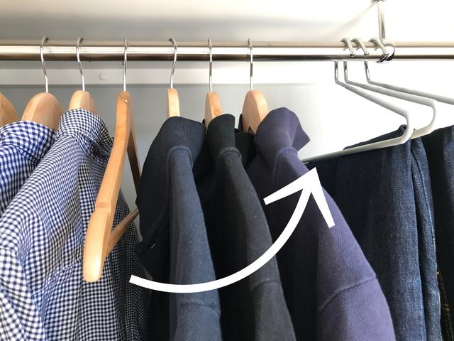 洋服に無関心の夫でも、最短でオシャレが決まるクローゼットの作り方