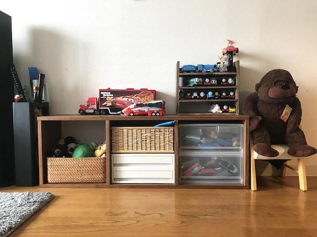 リビングにおもちゃがあってもスッキリ見える3つのポイント