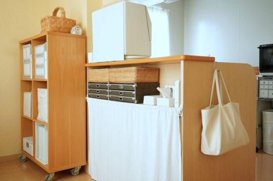 キッチンカウンター下収納をどう使う? 10年間の移り変わりを大公開!