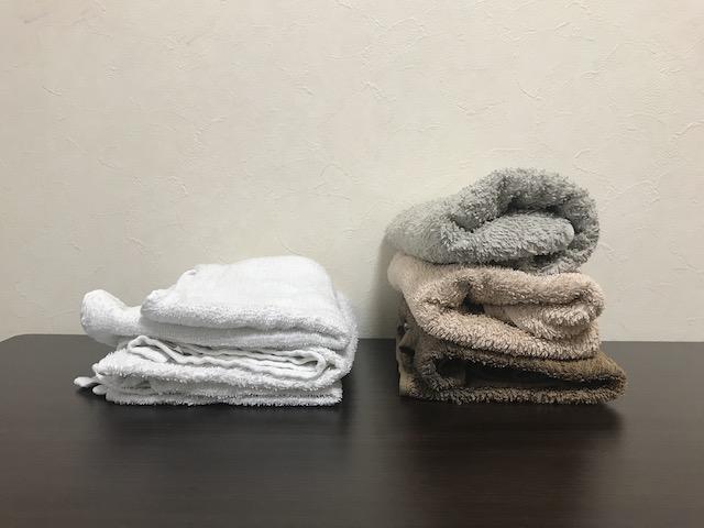 厚手?薄手?タオルの好みが家族でバラバラのときは、どうしたら?