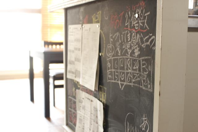 デッドスペースを使って黒板DIY! 迷子になりやすい子どものプリントが大集合!