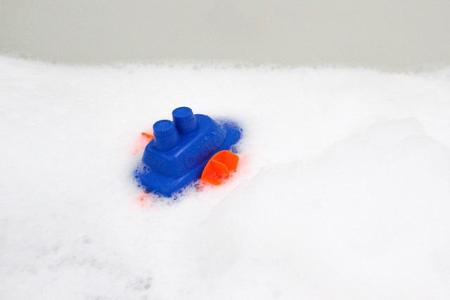 子どもにも安心!余りがちなバブルバスで面倒なお風呂掃除をラクに楽しくする方法