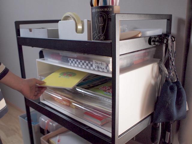 使いにくいと諦めない!IKEAのワゴンやトロファストを片づけやすい収納にプチカスタム