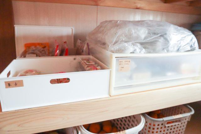納戸をスッキリ片づけたい!②ムダを減らして賞味期限内に使い切る食品の管理と収納