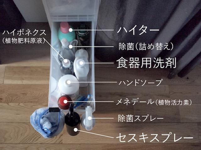 洗剤は選び方で在庫管理が楽になる!日々の掃除と大掃除の洗剤をあえて分ける効果とは?