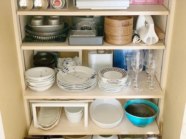 「食器棚」はありません?! 使う目的と頻度で分散収納して食器をもっと使いやすく!