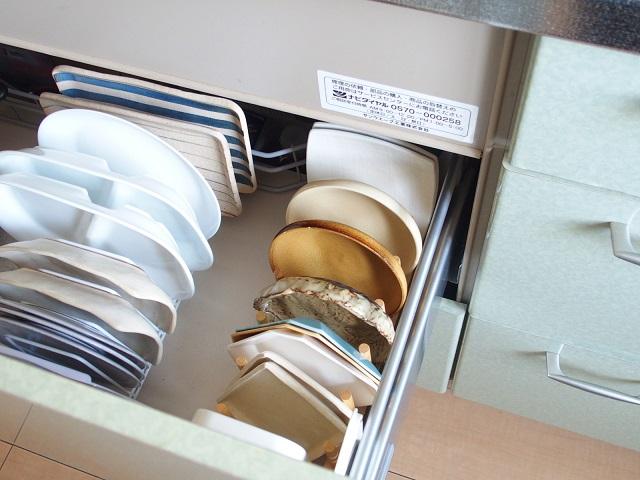 理想の食器収納に近づく近道は、よく使う食器の置き場所をまずは確保すること