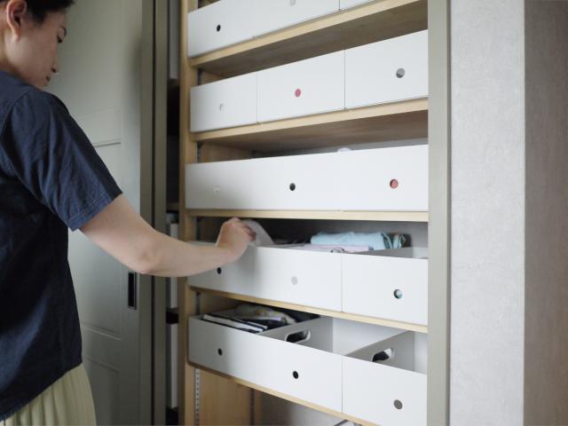 ざっくり収納でも洗面所スッキリが叶う「無印良品」のファイルボックス活用法