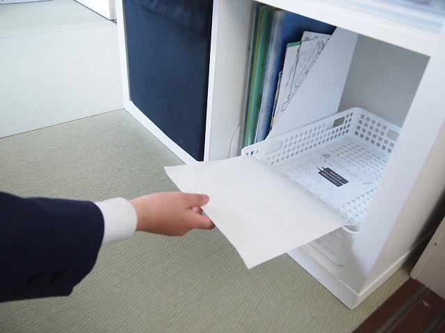 リビングにランドセルを散らかす問題を解決!ランドセル&学習用品置き場を子どもに合わせて配置換え
