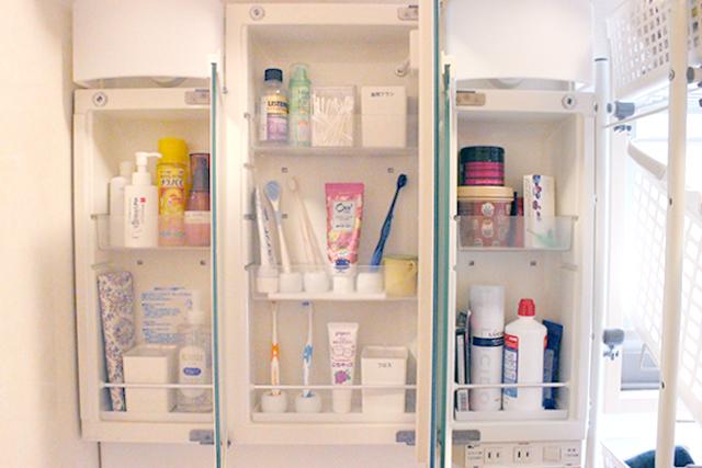 狭い洗面所にモノが多すぎる問題は、「捨てる」よりも「混ぜない」収納でスッキリ!
