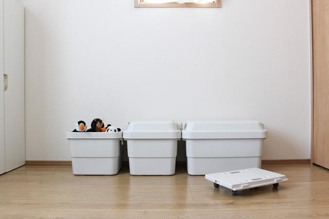 狭小賃貸・転勤族にもおすすめ! 多用途に使える無印良品の「頑丈収納ボックス」活用法