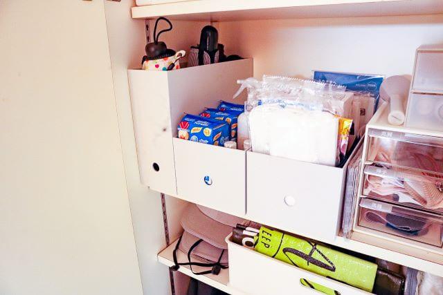 詰め替え、取り替えは家族みんなで!収納方法を変えるだけで叶います
