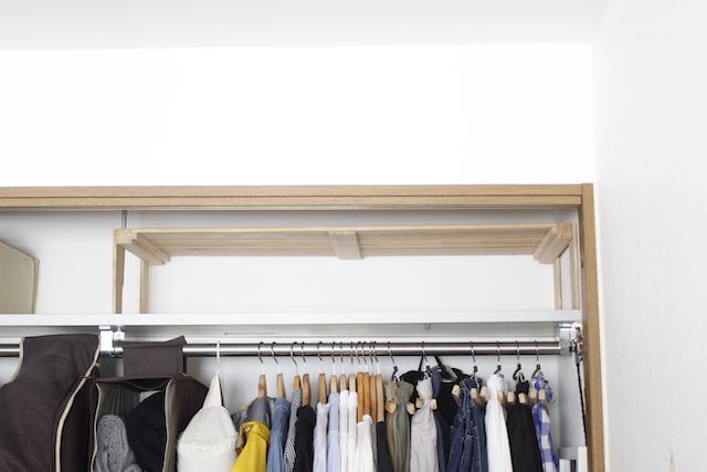 ゆかた、着物の収納にはデッドスペースが使える!クローゼットの棚を、徹底的に使いこなすアイデア