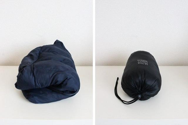 わずか8g!190円で購入できる「ウルトラライトダウン 収納バッグ」の便利な活用法