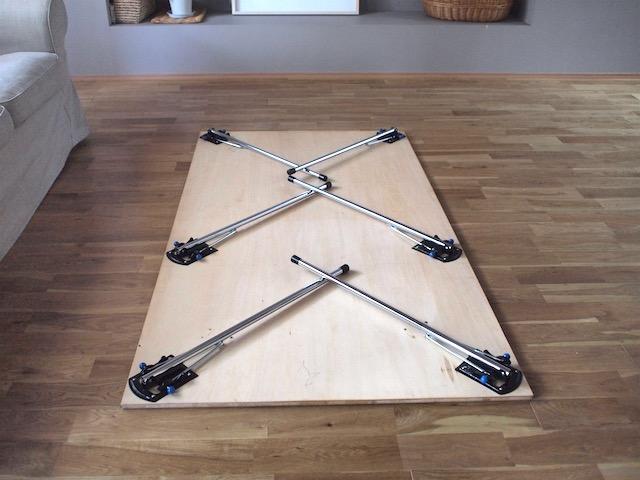 好きなサイズでDIY!大きめサイズの折りたたみテーブルは、勉強・来客・オンラインに大活躍