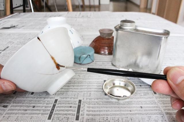 食器を割ってもイライラしないのは「金継ぎ」のおかげ。お手入れしながら使うという選択